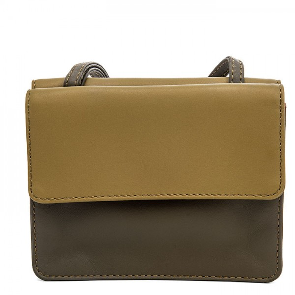 Double Flap Travel Organiser Olive