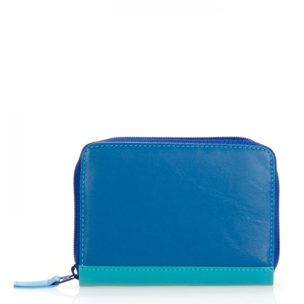 RFID Zipped Credit Card Holder Seascape