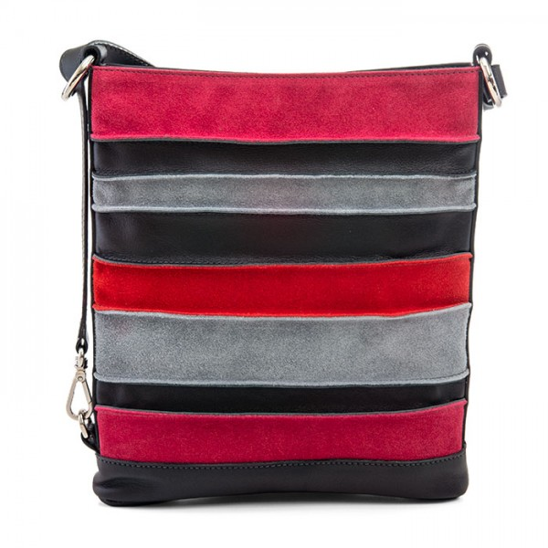 Laguna Cross Body Black-Pink