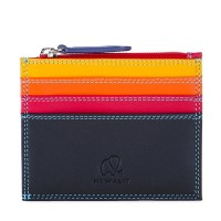 Credit Card Holder w/Zip Pocket Black Pace