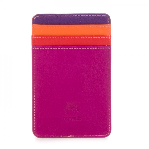 N/S Credit Card Holder Sangria Multi