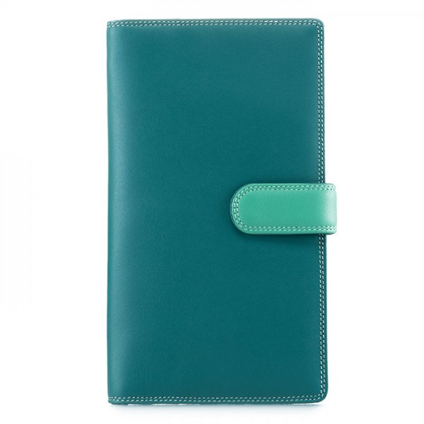 Large Tab Tri-fold Wallet Mint