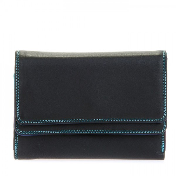 Cartera/billetera con doble solapa Black Pace