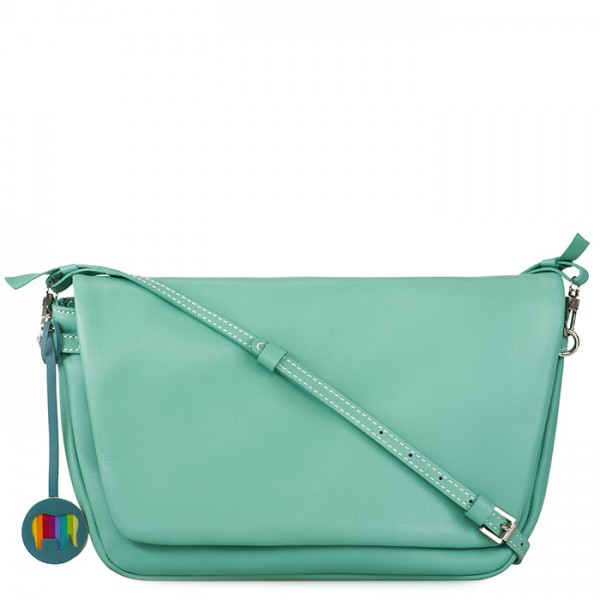 Bruges Flapover Cross Body Sage