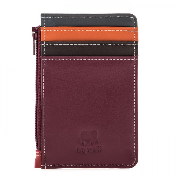 Credit Card Holder with Coin Purse Chianti