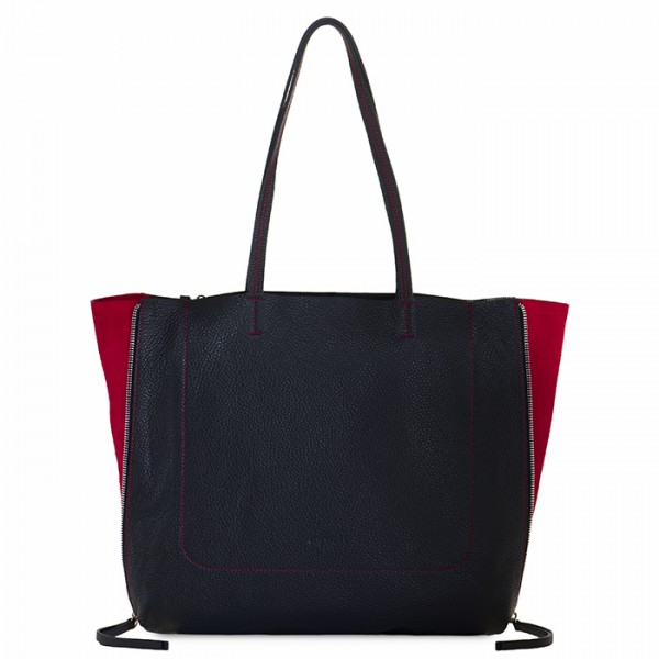 Bolso Shopper Icon Negro-Chianti