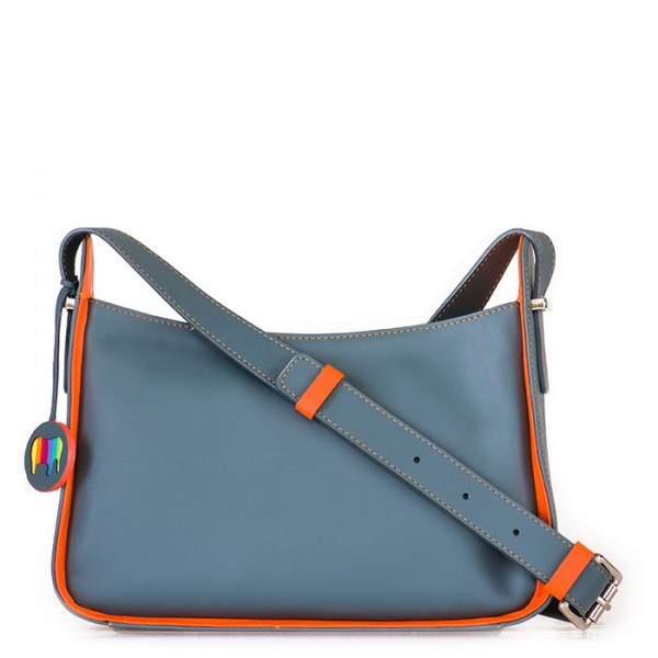 Amarante Zip Top Crossbody Graphite