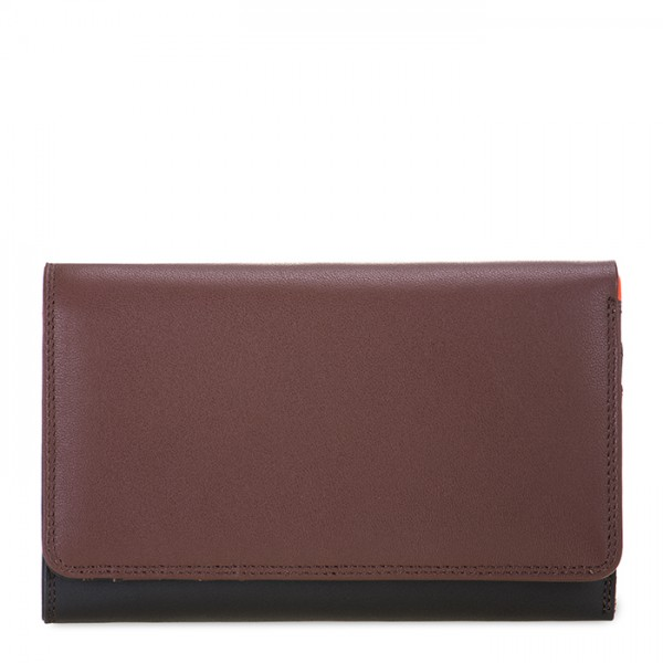 Medium Tri-fold Wallet Cacao