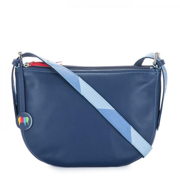 Riga Half Moon Bag Blue