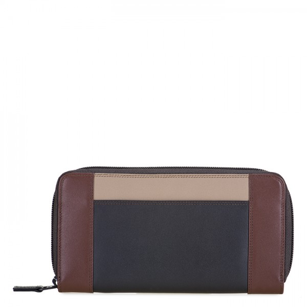 Large Zip Wallet Cacao