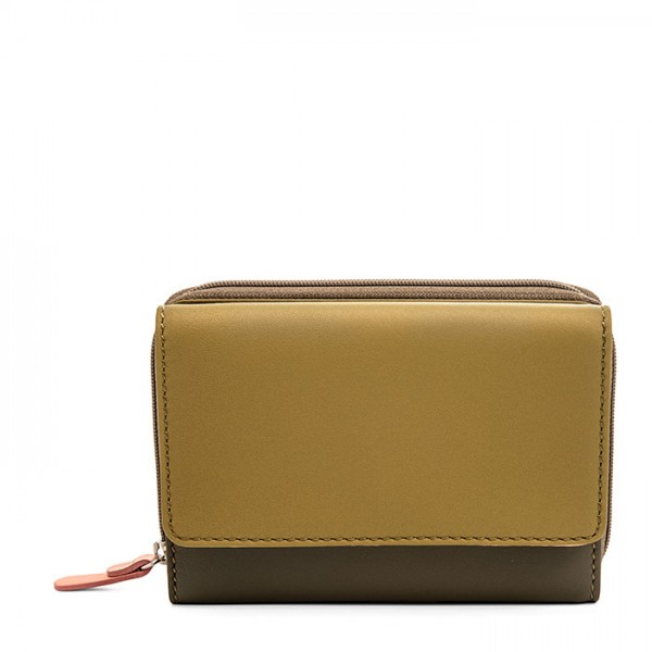 Passport Wallet Olive