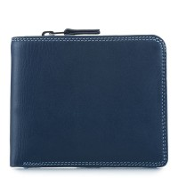 Wallet w/Middle Zip Section Royal