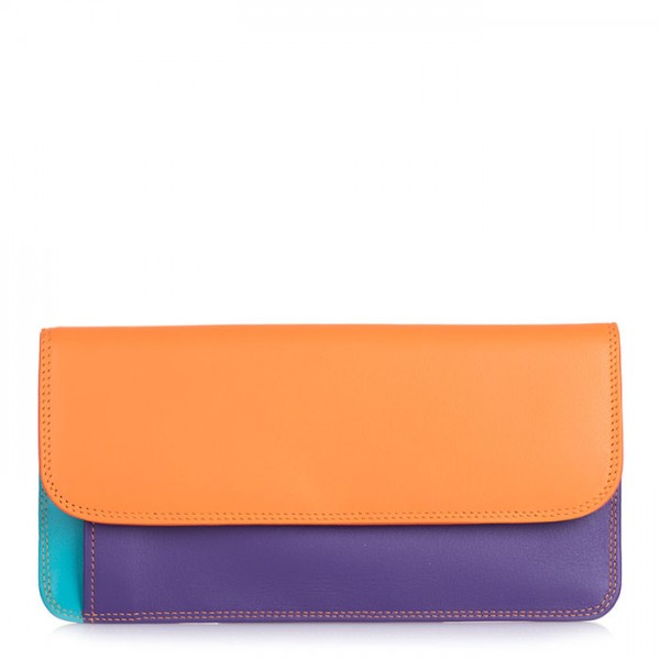 Simple Flapover Purse/Wallet Copacabana