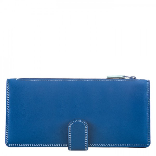 Tab Purse Wallet Denim