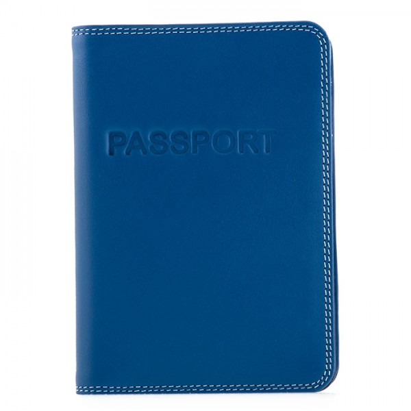 Passport Cover Denim