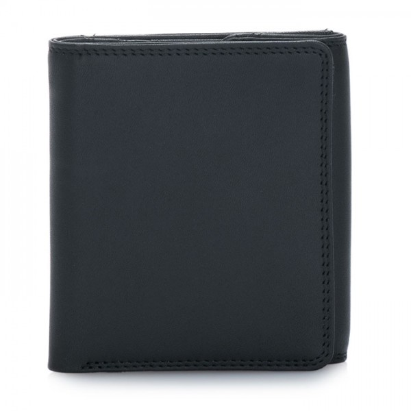 Classic Wallet w/Coin Tray Black