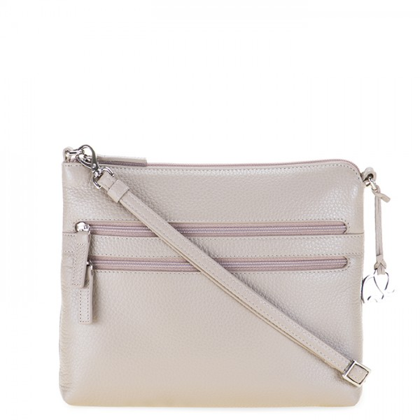 Cremona Slim Cross Body Stone