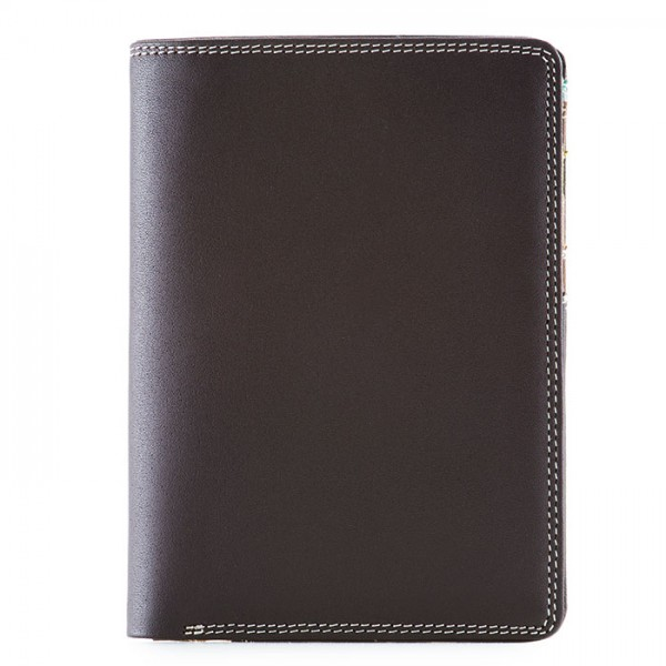 Continental Wallet with C/C Pockets Mocha