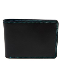 Men's Jeans Leather Wallet Black Pace