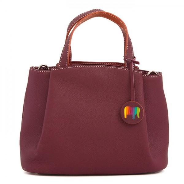 Kleine Tasche Verona mit Griff Chianti