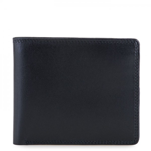 RFID Standard E/W Men's Wallet Black-Blue
