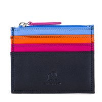 Credit Card Holder w/Zip Pocket Burano