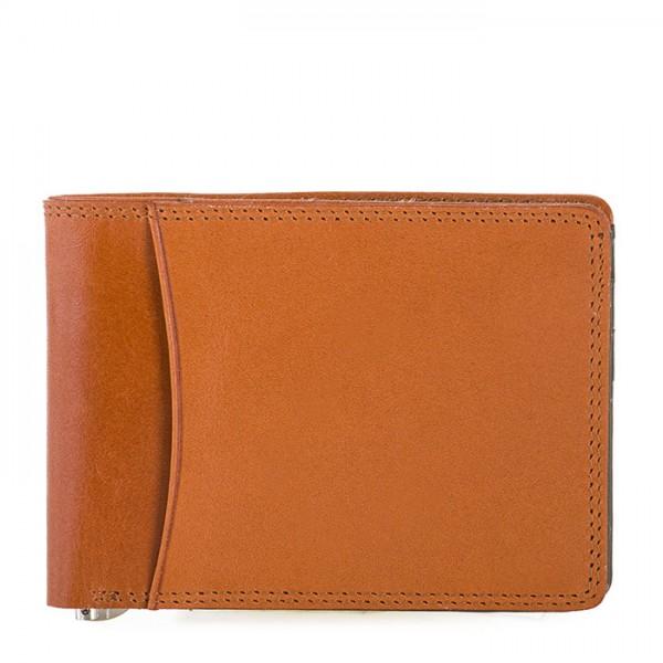 RFID Slim Money Clip Wallet Tan-Olive