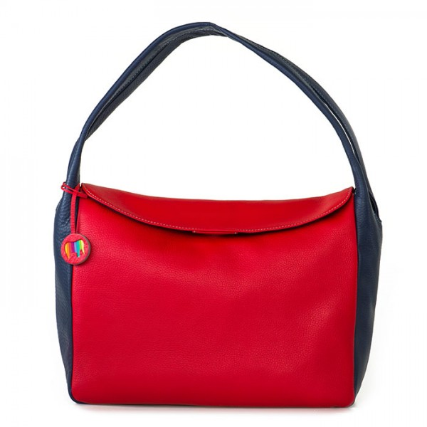 Lima Twin Handle Hobo Red