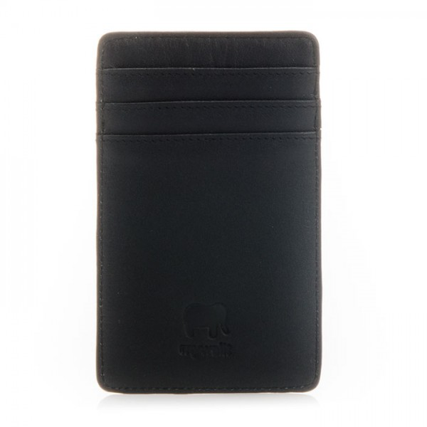 N/S Credit Card Holder Black