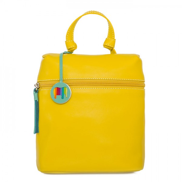 Bruges Mini Backpack Yellow