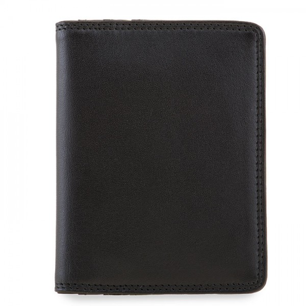Kreditkartenetui mit Kunststoffhüllen Schwarz