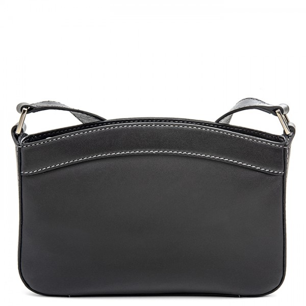 Siracusa Small Shoulder Bag Black