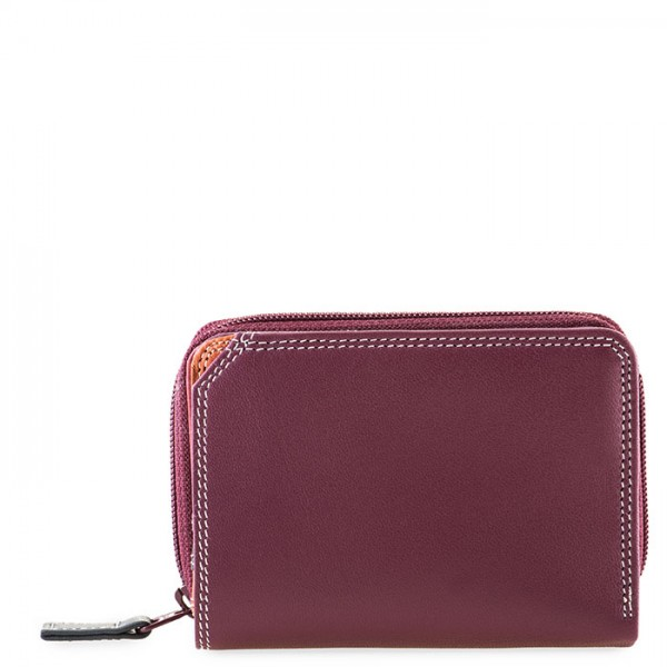 Small Zip Wallet Chianti