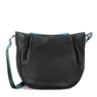 Verona Across Body Hobo Black Pace