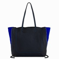 Icon Shopper Black-Blue