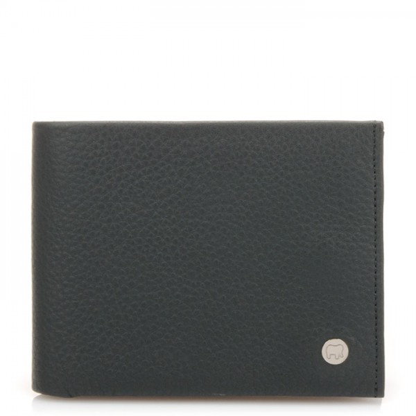 Panama Wallet with Inner Leaf Smokey Grey