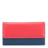 Tri-fold Zip Wallet Royal