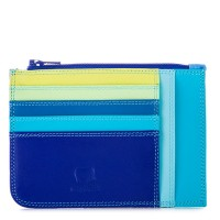 Slim Credit Card Holder with Coin Purse Seascape