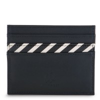 Venice Double Sided Credit Card Holder Black