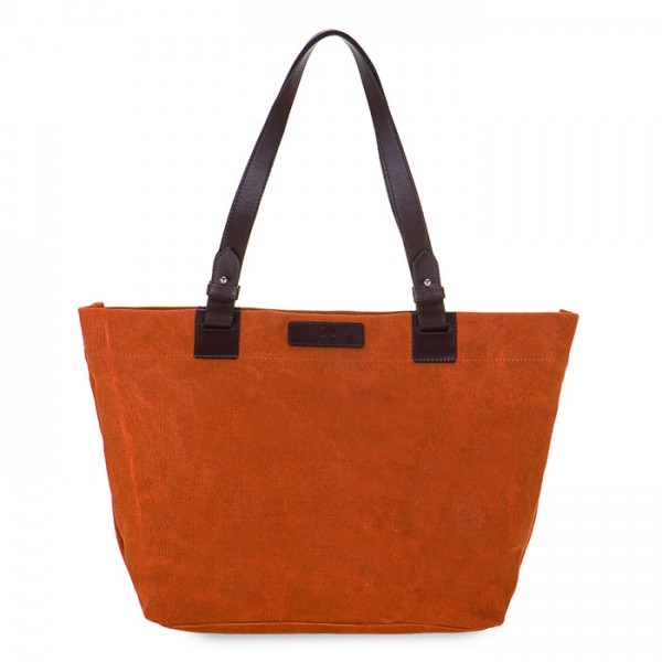 Shopper E/W Matera Marrone Castagno