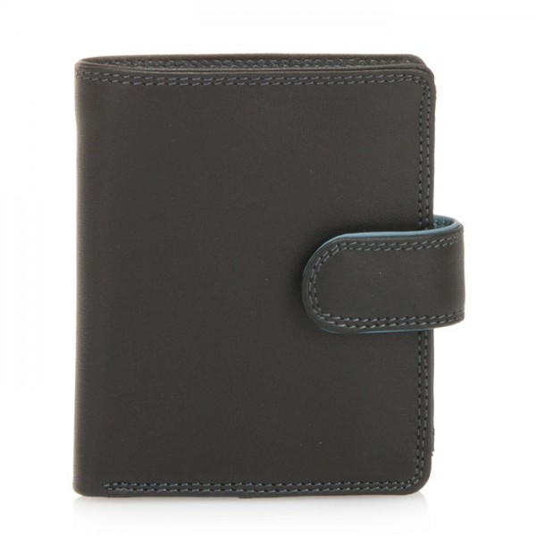 Tri-fold Tab Wallet Black Smokey Grey