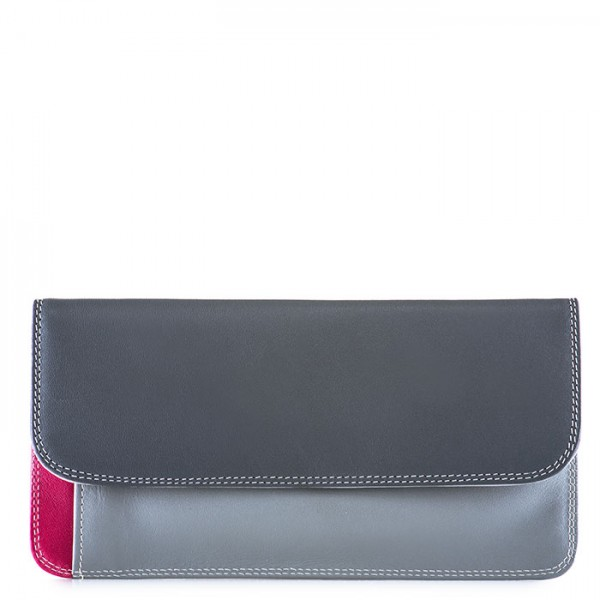 Simple Flapover Purse/Wallet Storm
