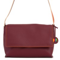 Ancona Leather Flapover Chianti
