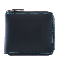 Full Zip Around Wallet Black Pace