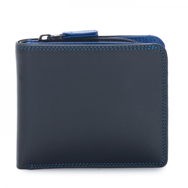 Wallet w/Middle Zip Section Kingfisher