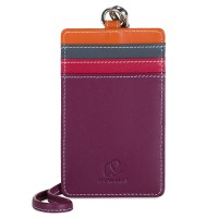 CC Holder with Lanyard Chianti
