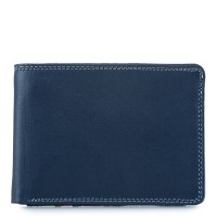 Jeans Wallet with Inner Leaf Royal