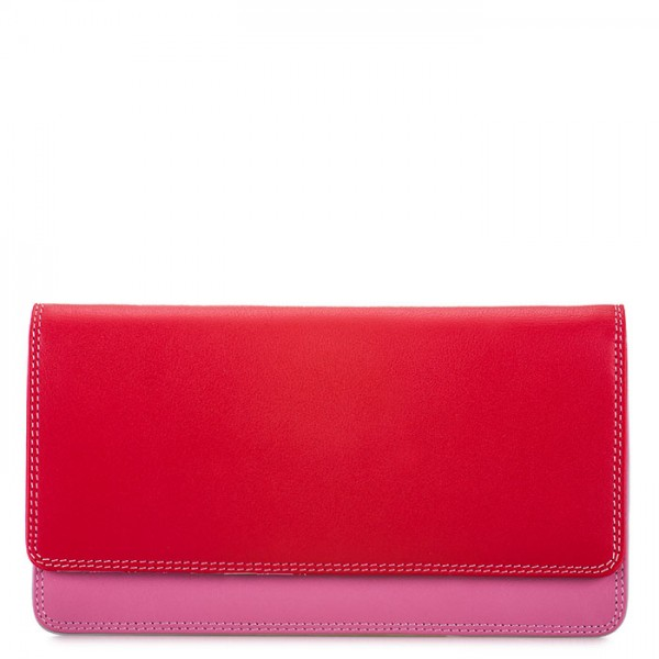 Medium Matinee Wallet Ruby