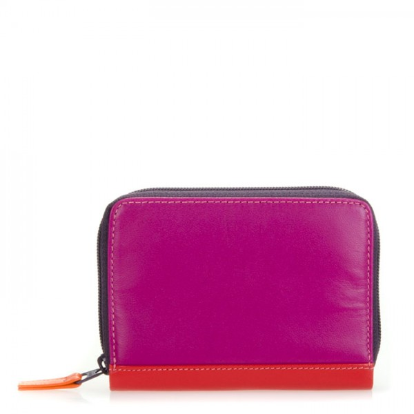 Zipped Credit Card Holder Sangria Multi