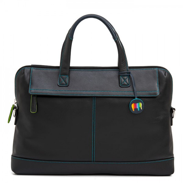 Slim Office Workbag Black Pace
